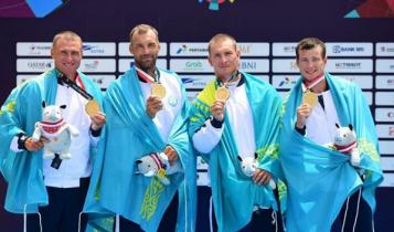 Золотые медали Азиады-2018 взяли казахстанские гребцы