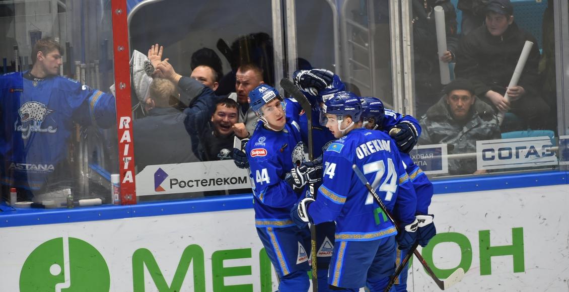 «Барыс» обыграл «Сибирь» в матче КХЛ