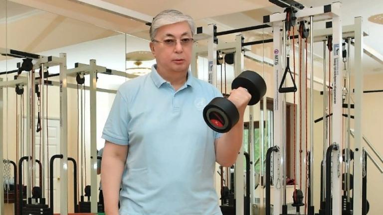 Касым-Жомарт Токаев спорт